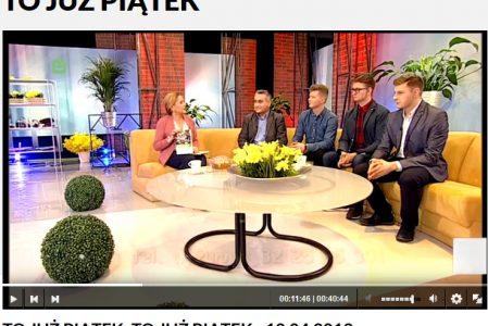 To już Piątek – reportaż TVP3 – 12.04.2019