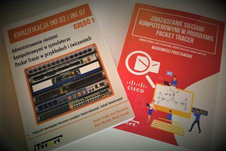 Polecamy najnowsze książki i podręczniki – do symulacji sieci w programie Packet Tracer
